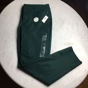Old Navy Pixie Pants In Deep Green Size 8 NWT